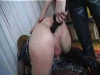 German Tranny Fisted And Fucked
