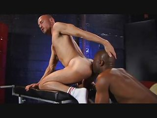 Hot Black Fukstick Up My Ass
