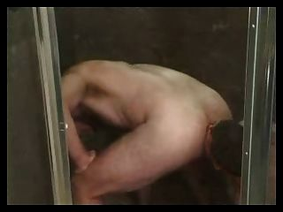 Mature Men Sucking & Ass Licking In The Shower.