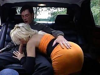 Blondine Anhalter Fick - Blonde Hitchhiker Fuck