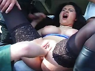 Public Fisting Threesome In Truck
