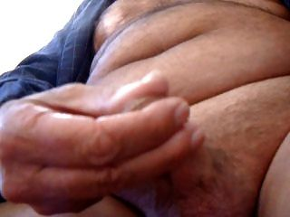 68yr Old First Wank And Cum Video