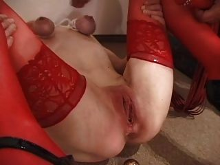 Tied Tits And Whipped Pussy!