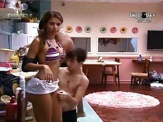 Silvia irabien aka la chiva big brother tit slip and thong - 3 5