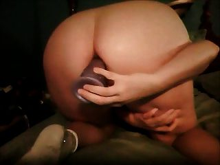 Anal With My Big Dildo, Oww