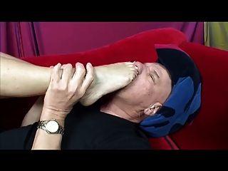 Foot Fetish Milf