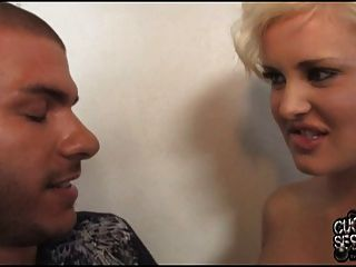 Andi Anderson At Black Worship If Front Of Her Cuckold Hubby