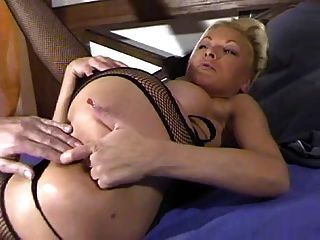 First anal for milf