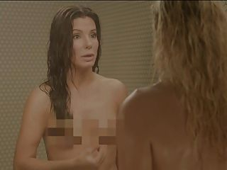Sandra Bullock And Chelsea Handler In The Shower
