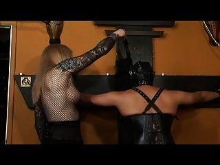 Shemale Mistress Dominates Tranny Slave