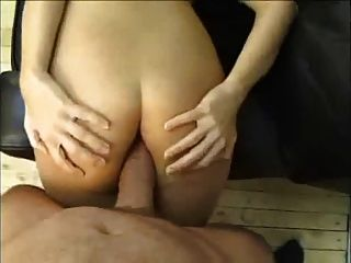 Milf Fucking On Sofa And Take Nice Cumshot