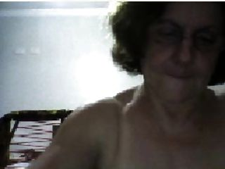 59 Yo Gilf Getting Of On Cam!