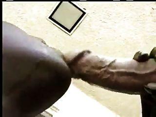 Awsome Ebony Blowjob