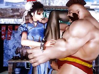 Fighting Girl Chun Li