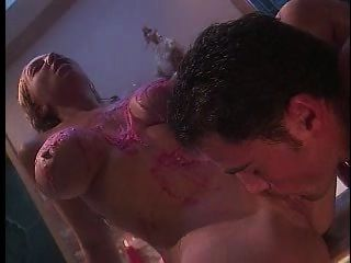 Kiki Daire, A Shower, Hot Wax And Some Cock!