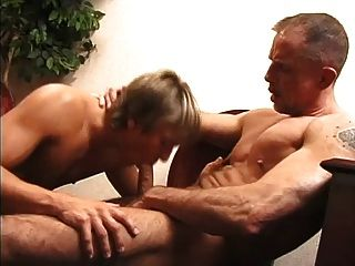 Hory Police Men Drilling A Cute Blonde Gay
