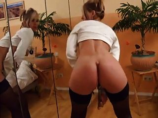 Hot Milf Shows Her Pussy Masturbate