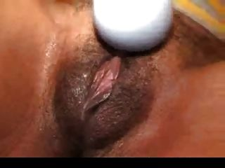 Ebony Women Uses A Sex Toy & Gives A Super Handjob
