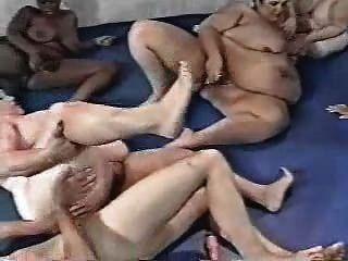 Bbw Gym Orgy