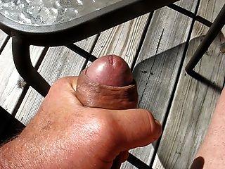 65 Yr Old Grandpa Cums #5