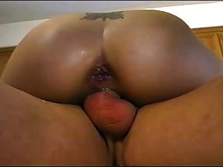 Young Violet Gets A Creampie In Each Hole (dp)