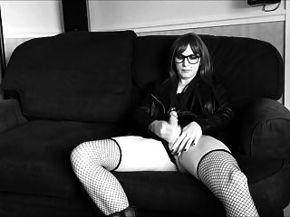 Tranny Pk Supersatin Shoots A Huge Load+ Slow Mo