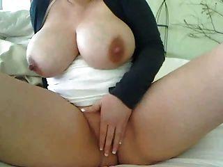 Big Milky Tits Masturbation