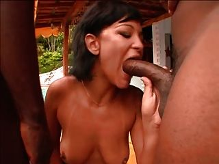 Two Fine Ass Brazilian Sisters Getting Some Black Dick