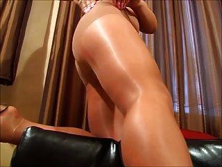 Pantyhose porno video