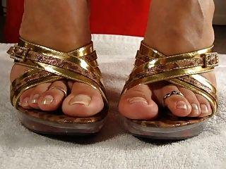 Cum For Her Feet