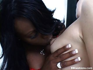 Hot Black And White Lesbian Porn