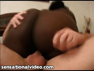 Black Bbw Slut Deja Fucks White Boss For Job