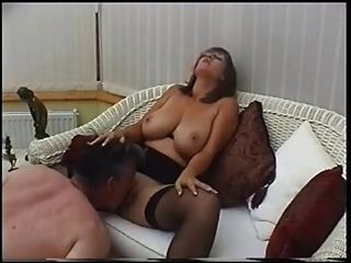 image British milf nici stirling in lesbian strapon action