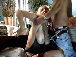He Comes And Fucks The Busty Blonde By Troc