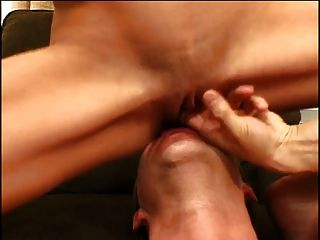 Dude Sticks His Cock Down A Hottie Throat