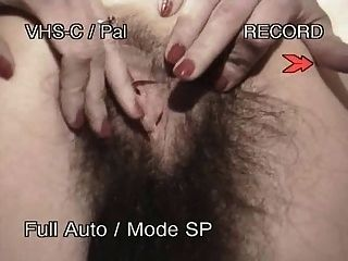 Crazy Hairy Pussy Masturbation And Anal