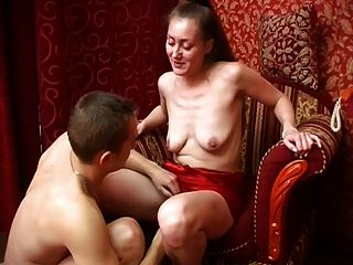 She Wants Her Nipples Sucked, And Doggy On A Chair