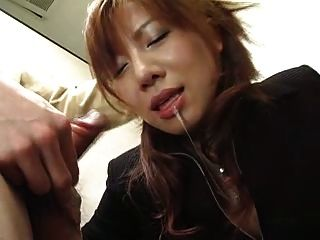 Aki Yatoh - 05 Japanese Beauties - Blowjob