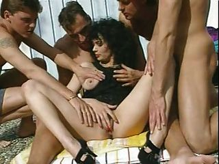 Veronique - Dark Haired Milf With 4 Men By Snahbrandy