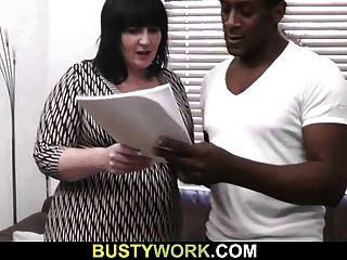 Bbw Have Fun With Bigcocked Black Guy
