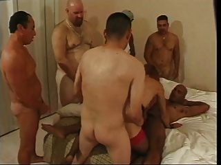 American Tranny Does Orgy - Bangie