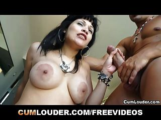 Hot Babe Sucks And Fucks A Hard Cock
