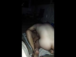 Hot Milf Fucked Outside By Neighbor