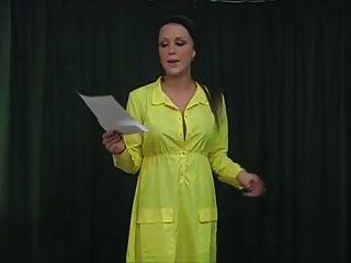 Girls Reenact Embarassing Situations - Naked Presentation