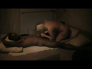 Bazes Blondie Fucks Her Black Bf At Home