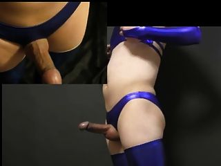 Japanese Tranny Cosplay Handsfree Cum