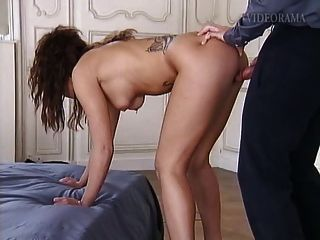 Pierced And Tattooed Slave Slut Fucked Hard In All Holes