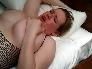 Wife Fingered On Bed  While Husband Films