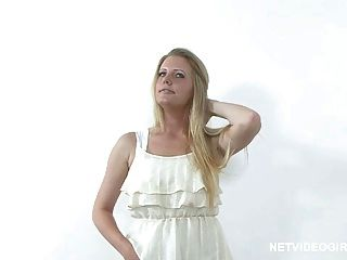 Blonde Calendar Model Audition - Netvideogirls