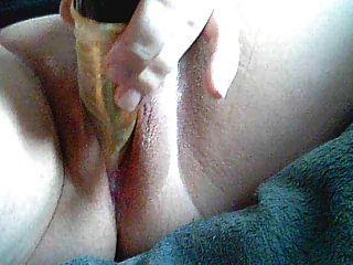 Bbw Close Dildo In Ass